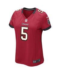 Nike Red S Josh Freeman Player Jersey 687 S