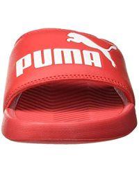 PUMA Erwachsene Popcat Hausschuh in Red für Herren