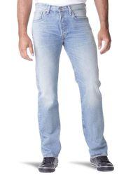 Levi's Blue 501 Original Fit Jeans for men