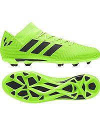 Nemeziz Messi 18.3 FG, Chaussures de Football Homme Adidas pour homme en coloris Green