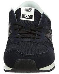 New Balance Black Damen 420 Sneaker