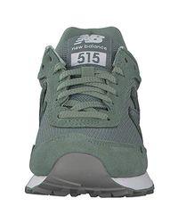 515, Baskets New Balance en coloris Green