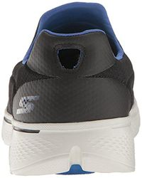 Skechers Black Performance Go Walk 4 Incredible Walking Shoe for men