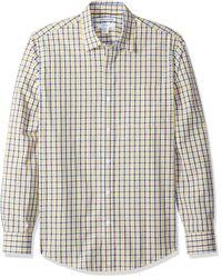 Camicia da uomo a maniche corte di Amazon Essentials in Multicolor da Uomo