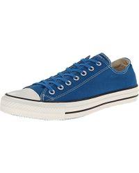 Ct Ox Unisex Style: 144784C-LRKPR Size: s 8.5 s 10.5 di Converse in Blue da Uomo