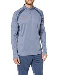 M Nk Dry Acdmy Dril Top - Maglietta a Maniche Lunghe da Uomo di Nike in Blue da Uomo