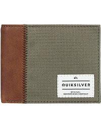 Quiksilver Multicolor Freshness Plus 3 Wallet for men