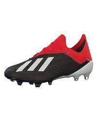 X 18.1 FG, Chaussures de Football Homme Adidas pour homme en coloris Red