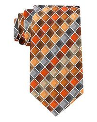 Geoffrey Beene Orange Ageless Box Ii Tie for men
