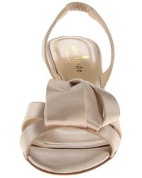 Kate Spade - Natural Madison Sandal - Lyst