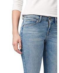 Tom Tailor Blue Jeanshosen Alexa Skinny Ankle Jeans