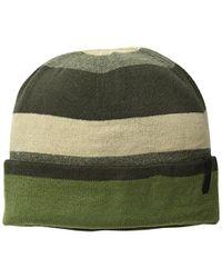 Timberland - Green Stripe Reversible Watch Cap for Men - Lyst