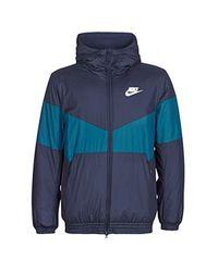 Nike Blue Vestsporty Jackets Grey Jackets for men