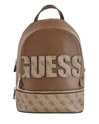 Mochila Skye Large Brown Guess