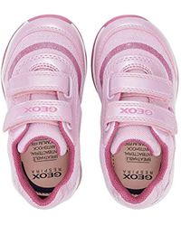 B Todo Girl A Geox de color Pink