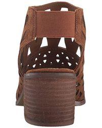 Steve Madden Brown Estee Dress Sandal