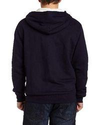 PUMA Blue Best Hooded Sweat Jacket for men
