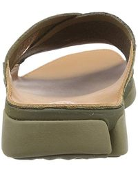 Clarks Tricove Cross Mules, Green (olive Combination 8 Uk for men