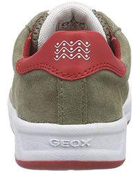 Geox Jungen J Rolk Boy D Low-Top in Multicolor für Herren