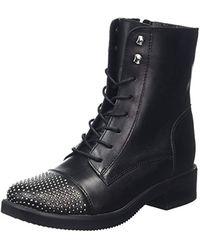 Caffie, Bottes Motardes Femme ALDO en coloris Black