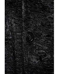 Manteau Emporio Armani pour homme en coloris Black