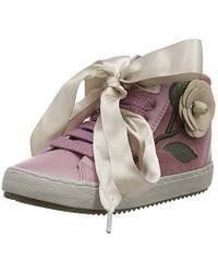 Geox Pink Mädchen J Kalispera Girl C Hohe Sneaker