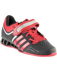 Adidas Red Adipower Weightlift Shoes for men