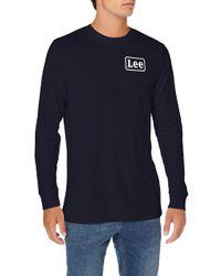 Lee Jeans Homme Ls Stripe T-Shirt in Blue für Herren