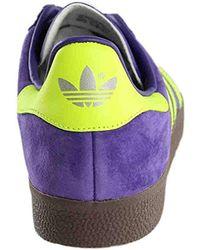 Adidas Originals Purple Adidas Gazelle Casual Sneakers