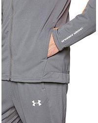 Under Armour Gray Challenger Ii Knit Short for men