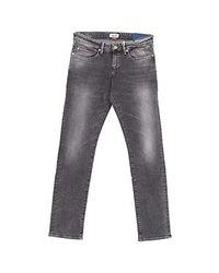 Tommy Hilfiger Gray Hilfiger Denim Slim Fit Jeans for men