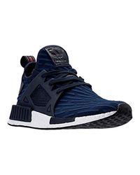 Adidas Originals Blue Nmd_xr1 Pk Running Shoe
