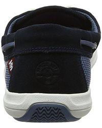 Helly Hansen Blue Lillesand Deck Shoe for men