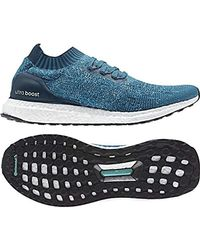 3c4f7c9719899 adidas Ultraboost Uncaged Running Shoes in Blue for Men - Lyst