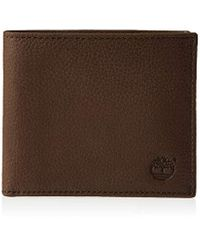 Timberland Brown -easy Man Wallet-chocolate
