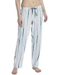 Favourites Trend 1 Pantaloni Pigiama Donna, Bianco (Star White 910) S di Calida