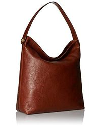 Fossil Brown Maya Handbag, Large Hobo