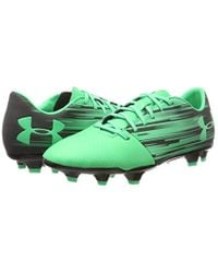 Under Armour Green Ua Spotlight Dl Fg Football Boots for men