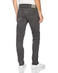 Replay Grover Straight Jeans in Gray für Herren