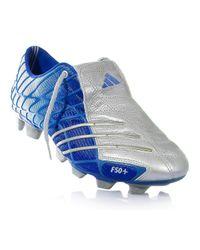 Chaussures de football pour hommes 807574 F50 + TRX FG Adidas pour homme en coloris Blue