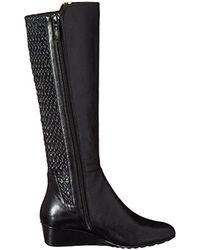 Cole Haan - Black Tali Grand Stretch Riding Boot - Lyst
