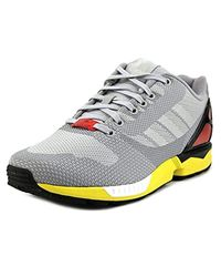 Adidas Gray Zx Flux Weave for men