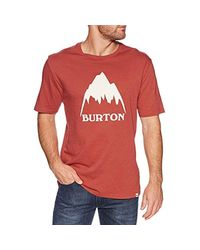 Burton Classic MTN High T-Shirt in Red für Herren