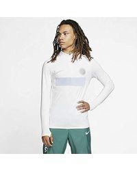 Nike Aeroadapt Strike Soccer Drill Top Size 2xl (white) for men