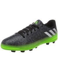 Messi 16.4 FxG, Chaussures de Football Mixte Enfant Adidas en coloris Multicolor