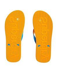 Scuba Flip Flop Superdry pour homme en coloris Blue