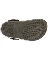 Crocs™ Green Unisex-Kinder Crocband K Clogs
