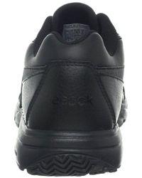 Reebok Black Work N Cushion Walking Shoe