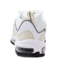 W Air MAX 98, Zapatillas de Running para Mujer Nike de color White