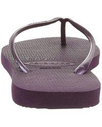Havaianas Purple Slim 4000030 Zehentrenner